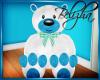 [B] Bear toy