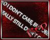 Don't Care Sticker