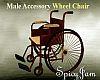 Antq Wheel Chair Male