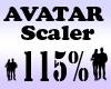 G` Avatar Scaler 115%