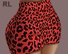 S. Red Skirt RL
