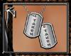 TAKEN Tags Silver - Male