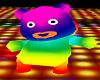 Rainbw Panda Bear Outfit