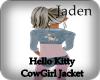 HelloKitty CowGirlJacket
