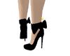 Black Bow Stilettos