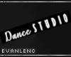 DANCE STUDIO SIGN