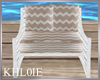 K rustic beige chair