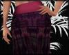 Rose Purple Boho Skirt