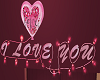 I Love You Neon Light