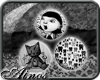 {A}BlackWhite Badges
