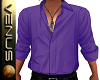 ~V~Purple Open Shirt