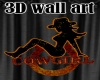 country girl wall sign