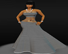 bm sexi grey gown
