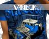 :HE:OldCool;V-NEck-Blu