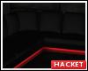 H@K Dark Glow Sectional
