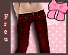 Freu ❀ Red Jeans ANDRO