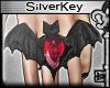 § Bloodstone Bat Ring