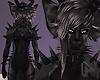 COAL Black Wolf Fur M