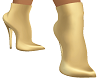 Beige /Gold AnkleBoots