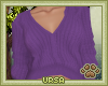 U. Sweater Purple