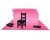 Black&Pink Pillow Fort