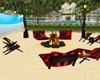 [E]beach fogata  ,sillas