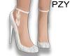 ::PZY::White Low Heels