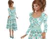 TF* Modest Floral Dress