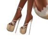 Boho Tan Heels