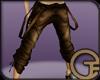 Braces Pants - Sepia