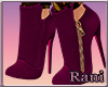 Fall Out Boots - Magenta