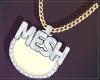Mesh + Sparkles M  #1000