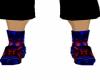 Red-Blue Cowboy Boots(M)