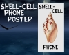 Shell-Cell Phone Poster