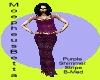Purple Shim Stripe B-Med