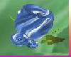 [TGUU]Rose Pin Med Blue