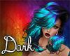 Dark Blue&Neon Megan