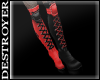 {D} Harley Boots