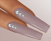 $ Dusty Diamond Nails
