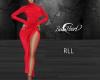 Reda Red Dress -RLL