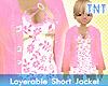 Pink Crush Short Jacket