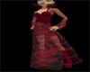 CrimsonVelvet Goth Dress