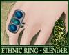 SL- Ethnic Ring Blue V1