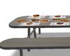 BBQ picnic table