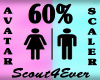 Avatar Scaler 60% DER