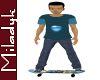 MLK Ani Jake Skateboard