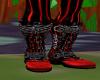 evil clown boots