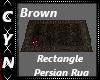 Brown Rec Persian Rug