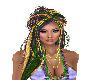 Mardi Gras Hair