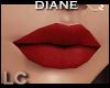 LC DIane Matte Red